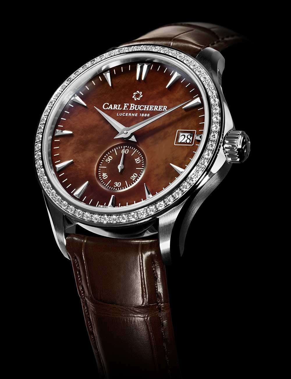 Carl F. Bucherer Manero Peripheral, diamond-set version