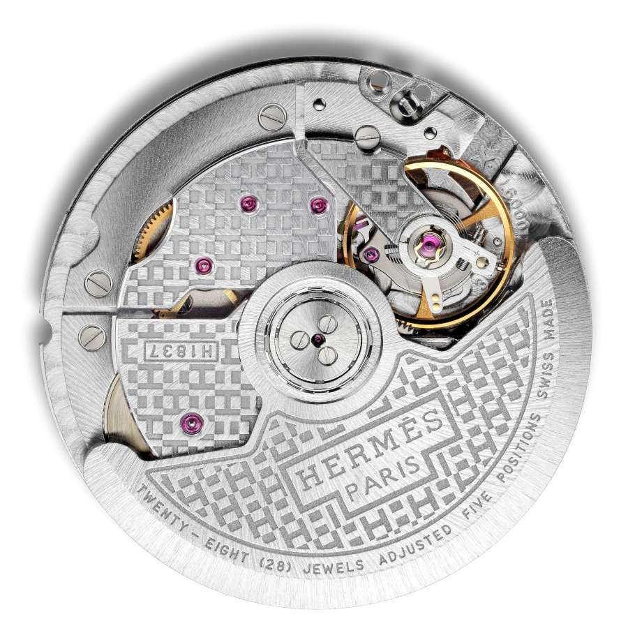 Hermès Calibre H1837 movement