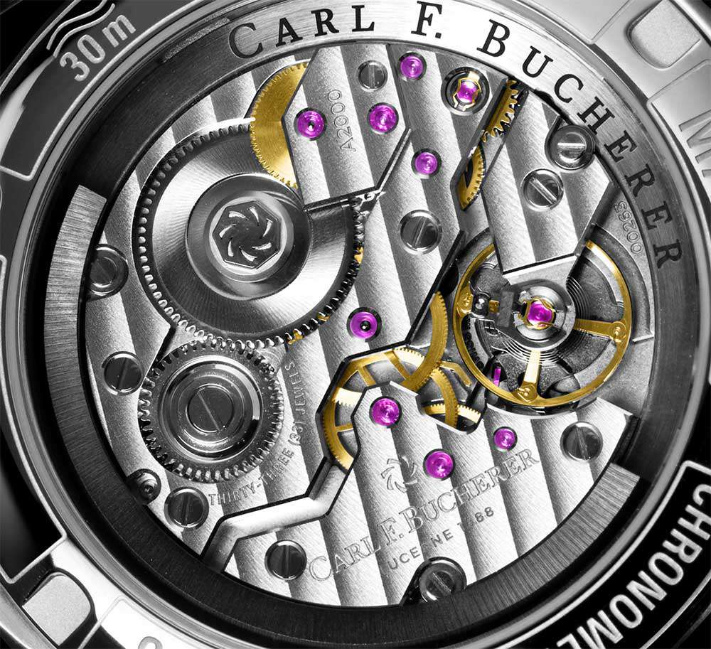 Carl F. Bucherer Manero Peripheral, movement