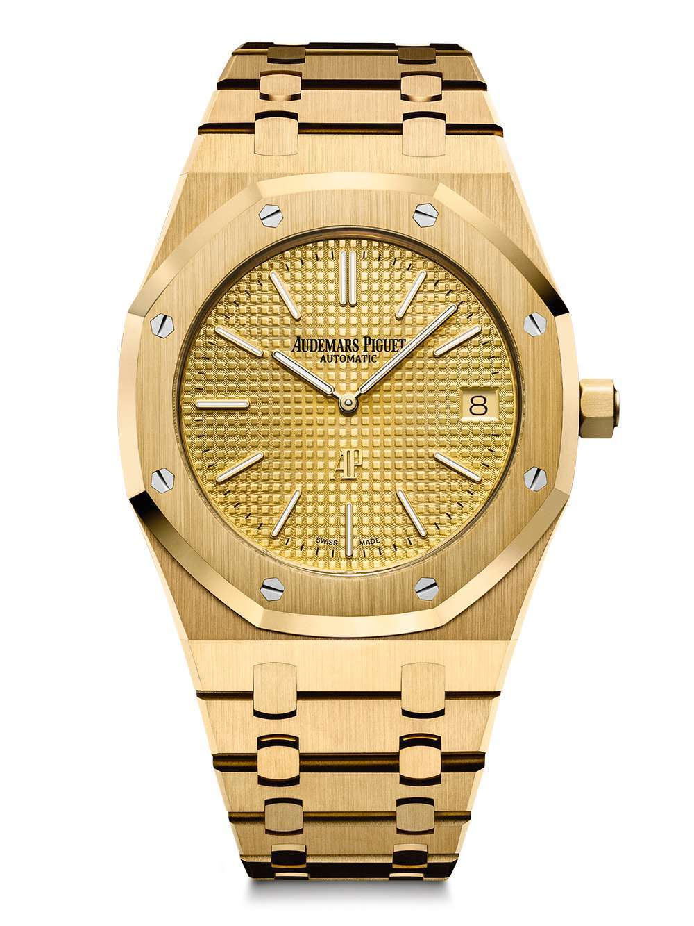 Audemars Piguet Royal Oak Extra-Thin gold dial