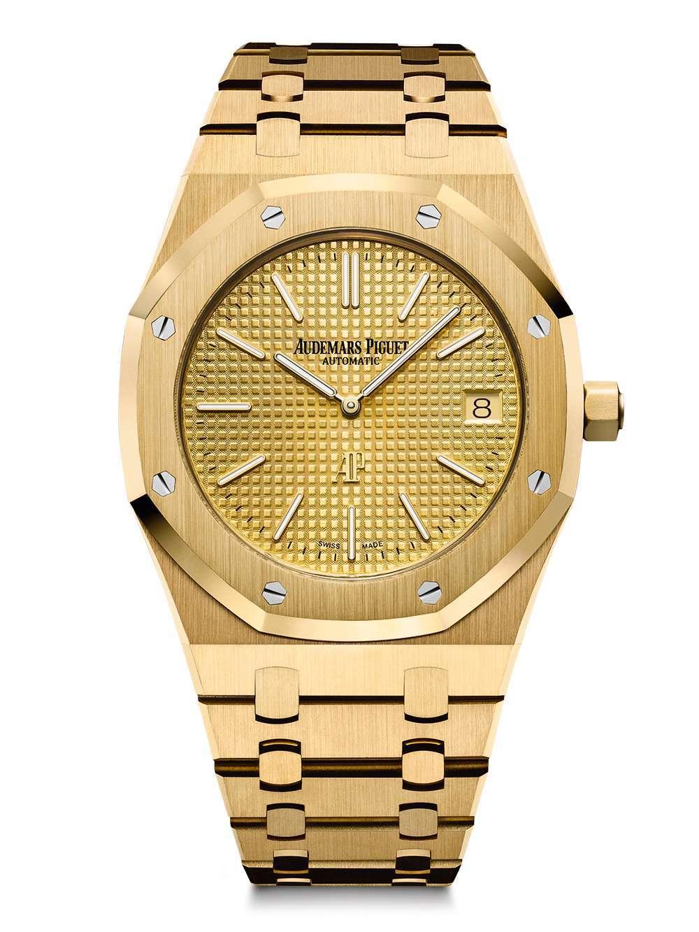 Audemars Piguet Royal Oak Extra-Thin gold dial