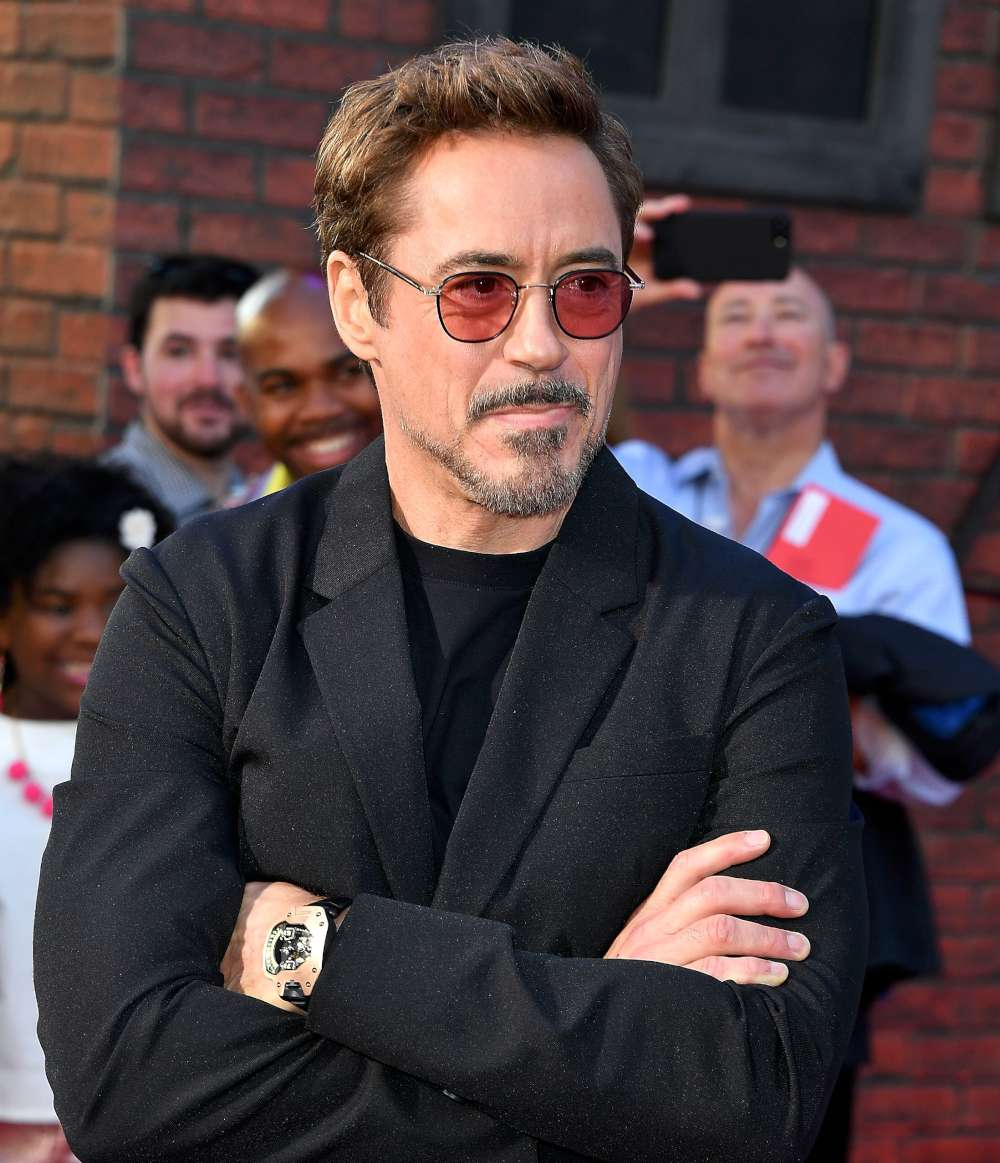 Robert Downey Jr. wears Urwerk for Spiderman Homecoming