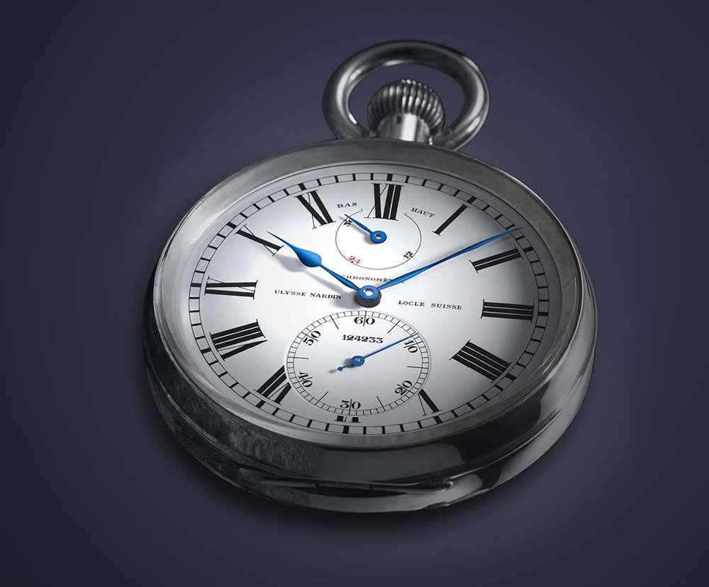 Ulysse Nardin vintage Torpilleur pocket watch