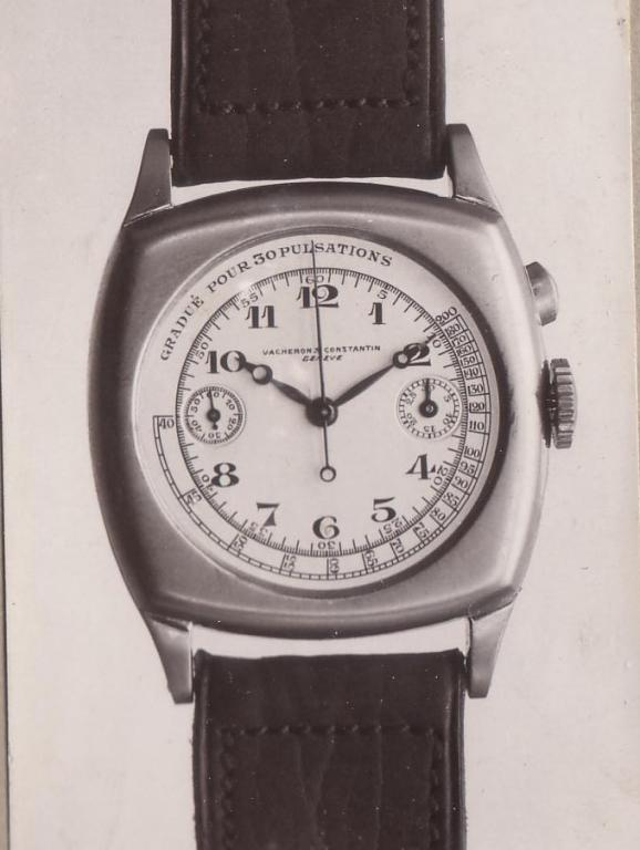 Vacheron Constantin reference 3410 pulsometer