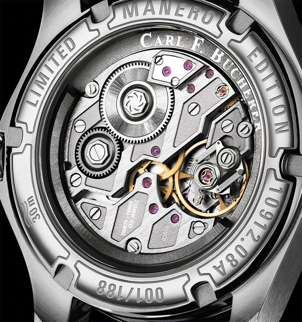 Carl F. Bucherer Manero PowerReserve movement