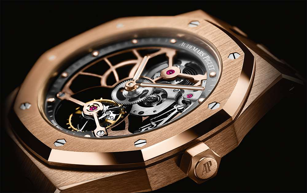 Audemars Piguet Royal Oak Tourbillon Extra-Thin Openworked