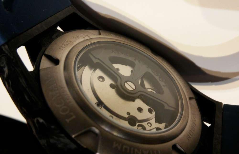 Locman Montecristo Carbon Automatic caseback