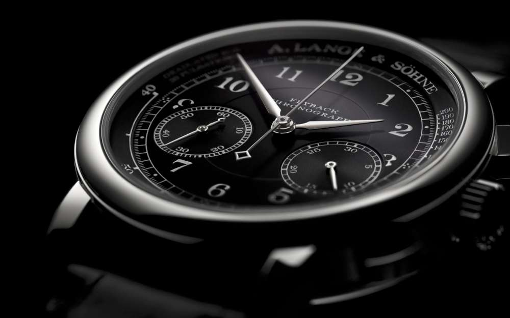 A. Lange & Söhne 1815 Chronograph Black Dial Pulsometer