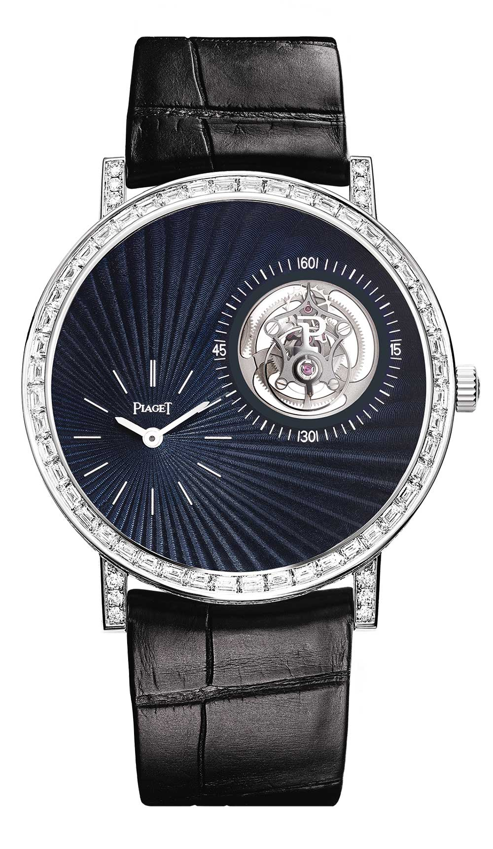 Piaget Altiplano Tourbillon High Jewellery G0A42204, front view