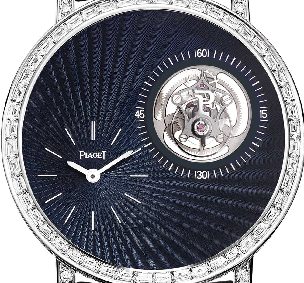 Piaget Altiplano Tourbillon High Jewellery G0A42204, dial detail