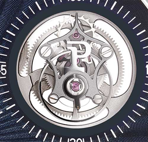 Piaget Altiplano Tourbillon High Jewellery G0A42204, tourbillon detail