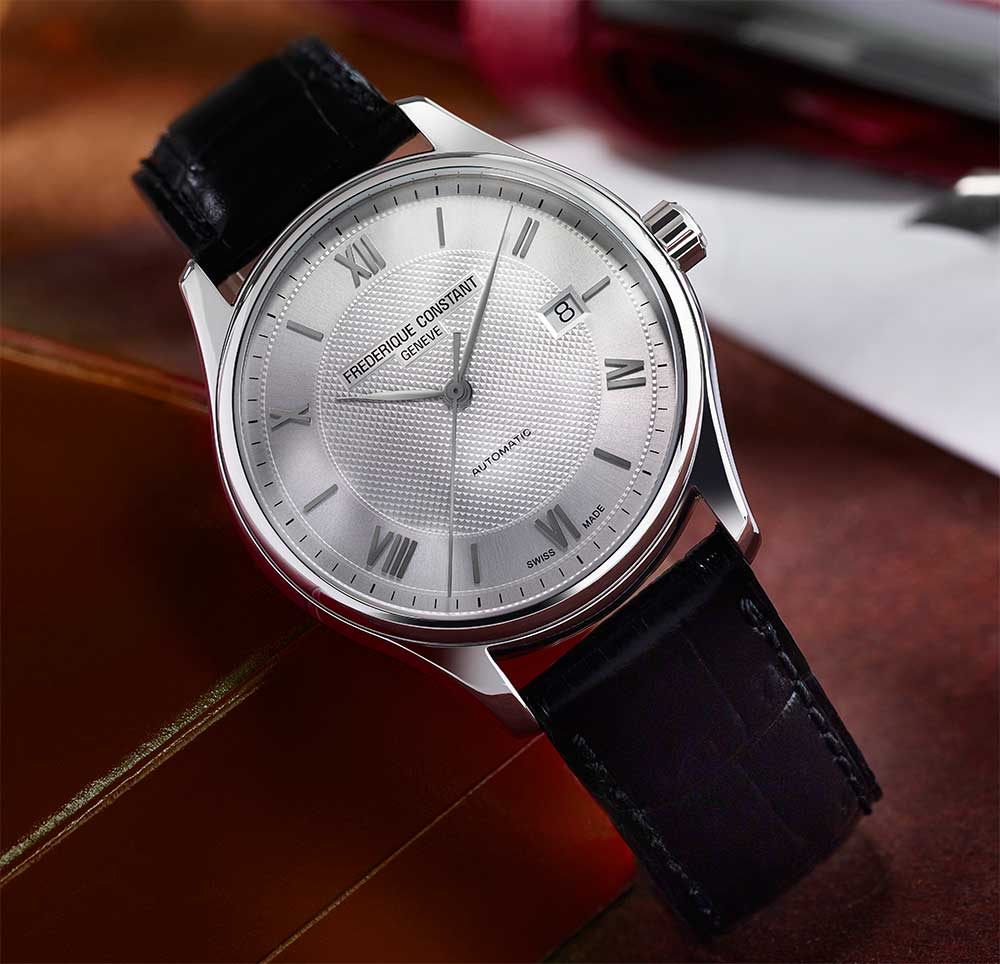 Frederique Constant Classics Index Automatic in stainless steel