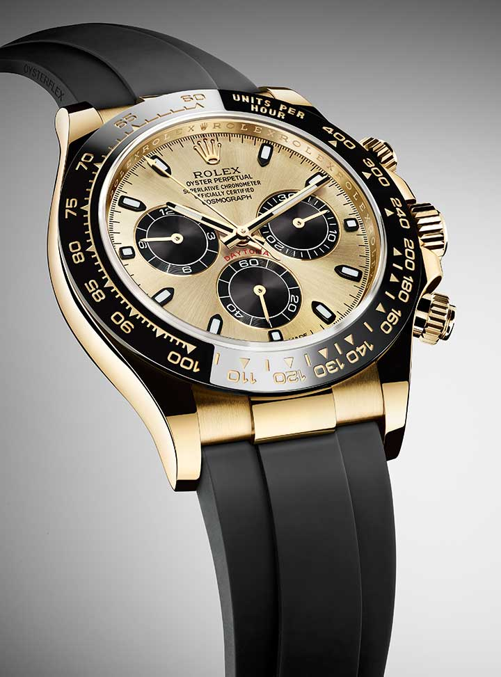 Rolex Oyster Perpetual Cosmograph Daytona in yellow gold, reference 116518LN