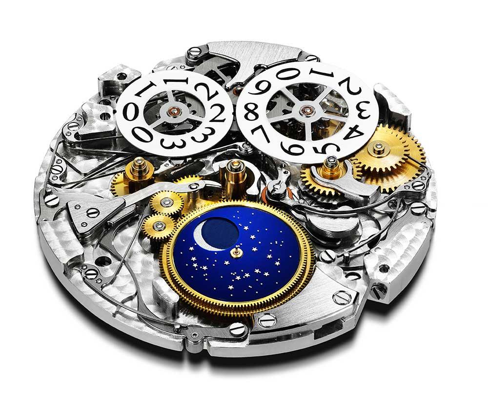Chopard L.U.C Lunar One Calibre 96.13-L dial side