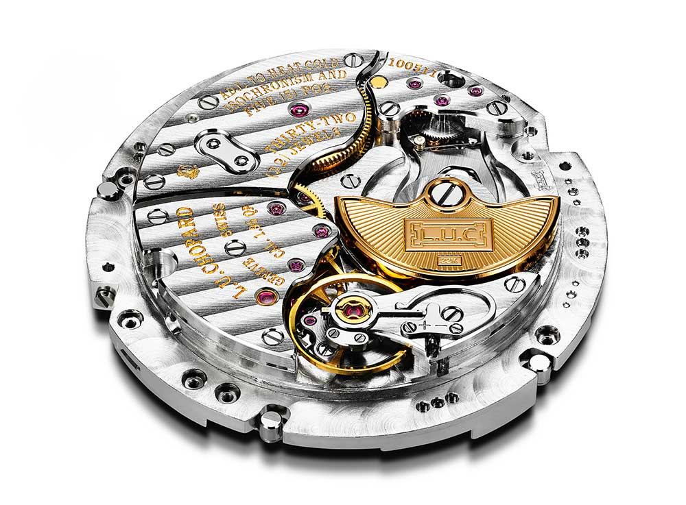 Chopard L.U.C Lunar One Calibre 96.13-L caseback side