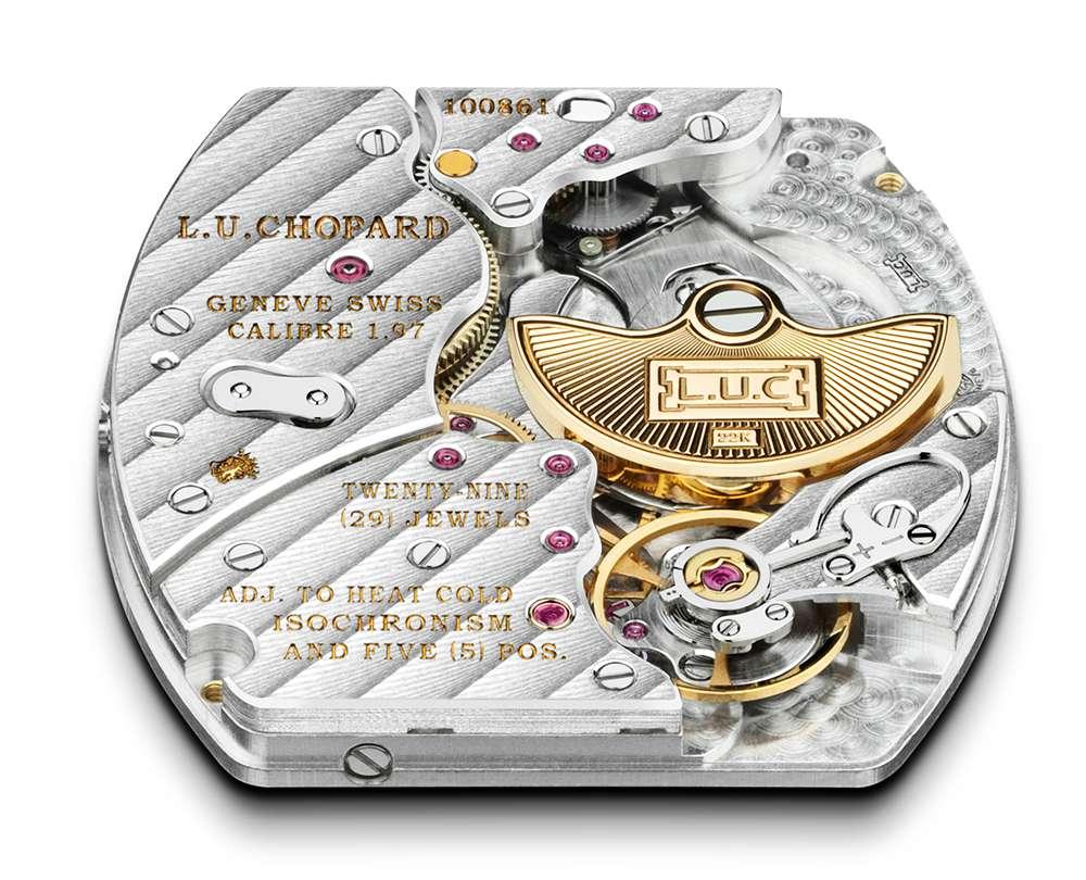 Chopard L.U.C Heritage Grand Cru 97.01-L calibre, reverse side