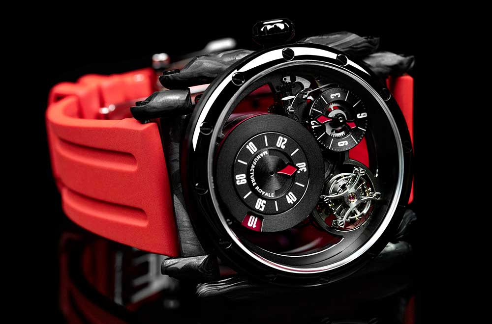 Manufacture Royale ADN, DLC-coated steel and forged carbon variant