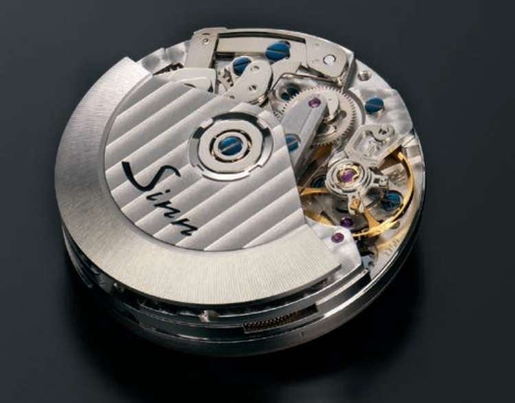 Sinn SZ01 chronograph movement