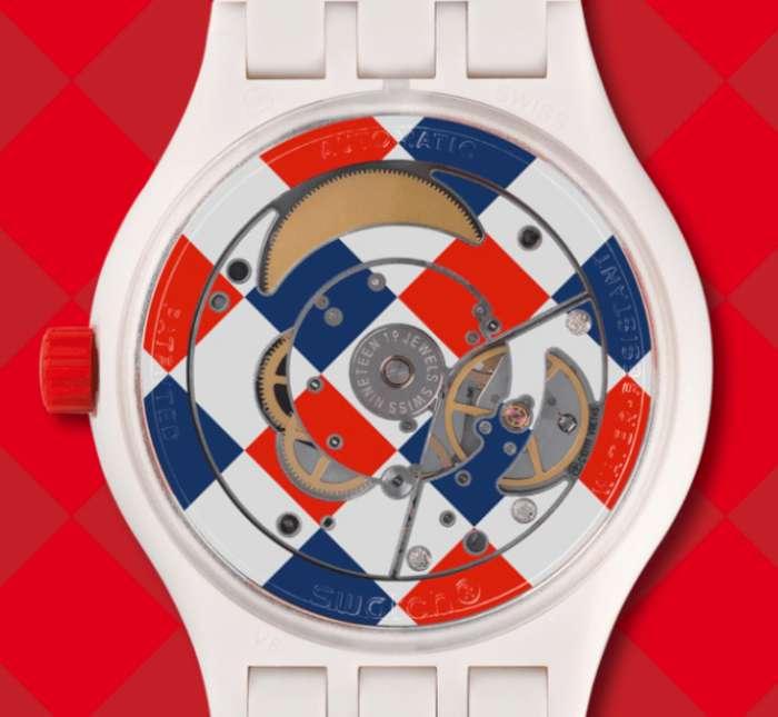 Swatch Sistem51 Arlequin caseback