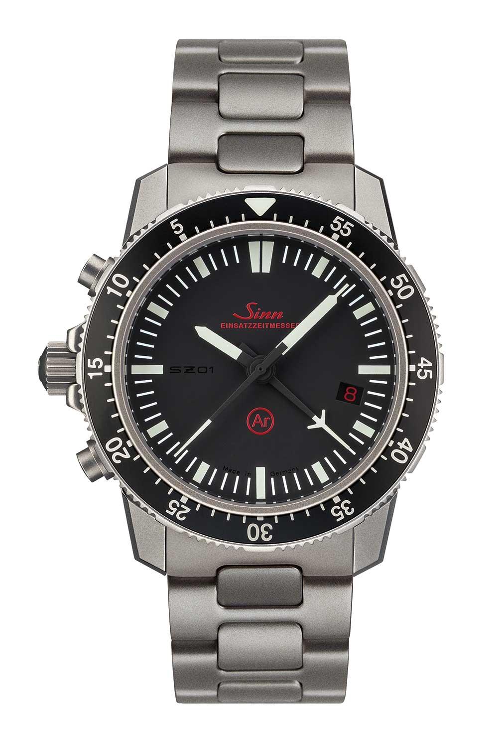 Sinn EZM 1.1 mission timer chronograph with bracelet