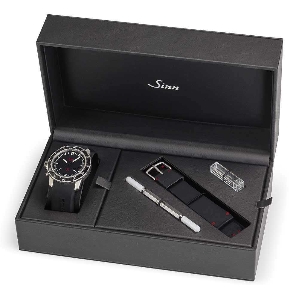 Sinn EZM 1.1 mission timer chronograph presentation box
