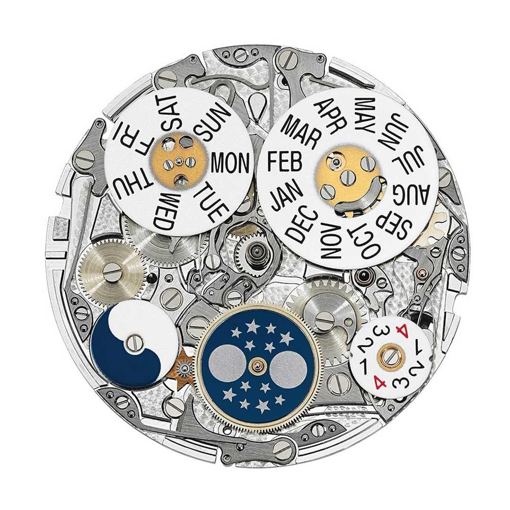 Patek Philippe Calibre CH 29-535 PS Q dial side