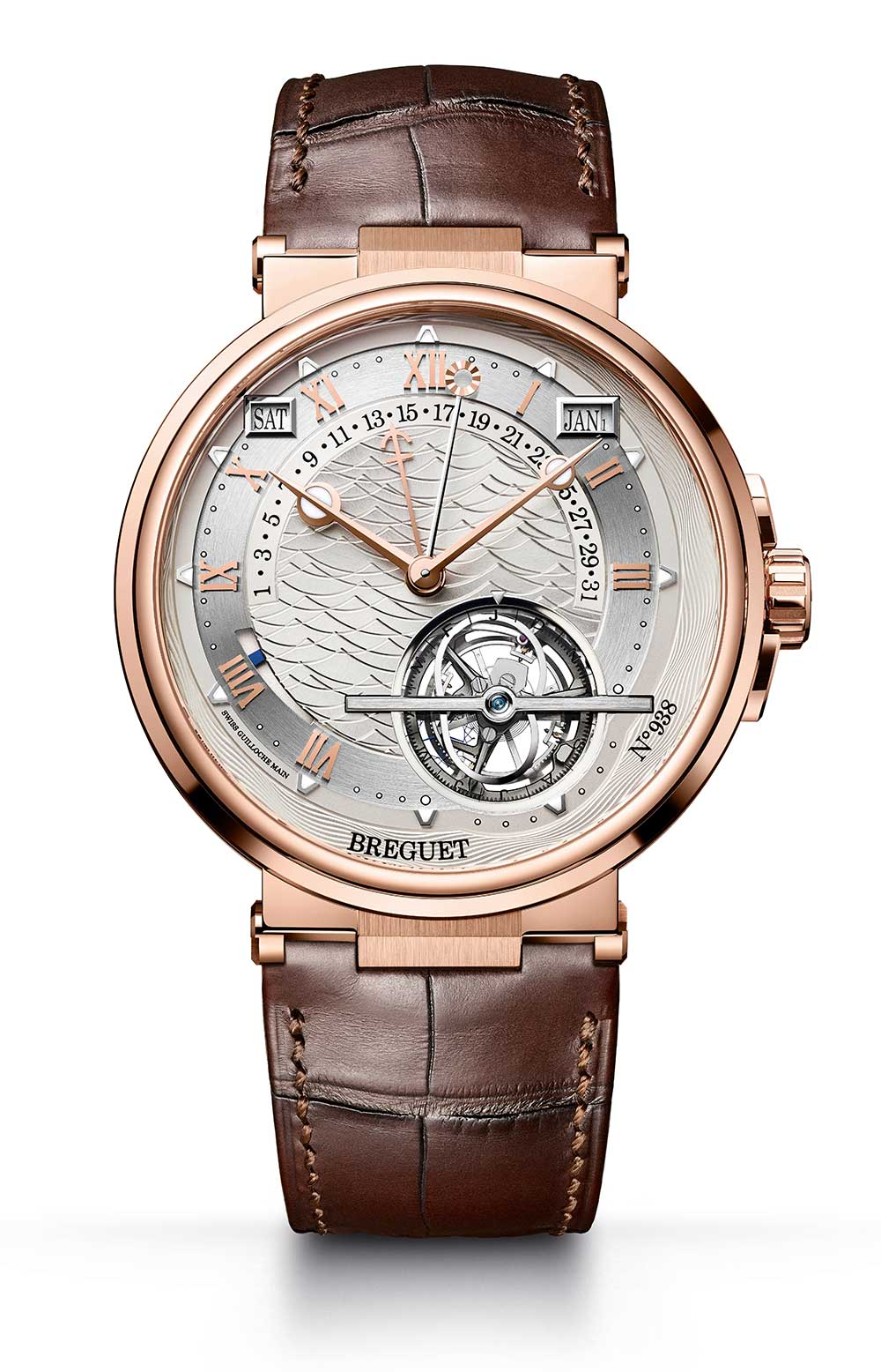 Breguet Marine Équation Marchante 5887 rose gold