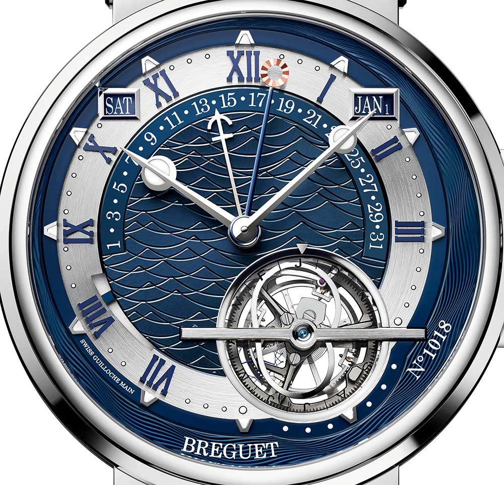 Breguet Marine Équation Marchante 5887