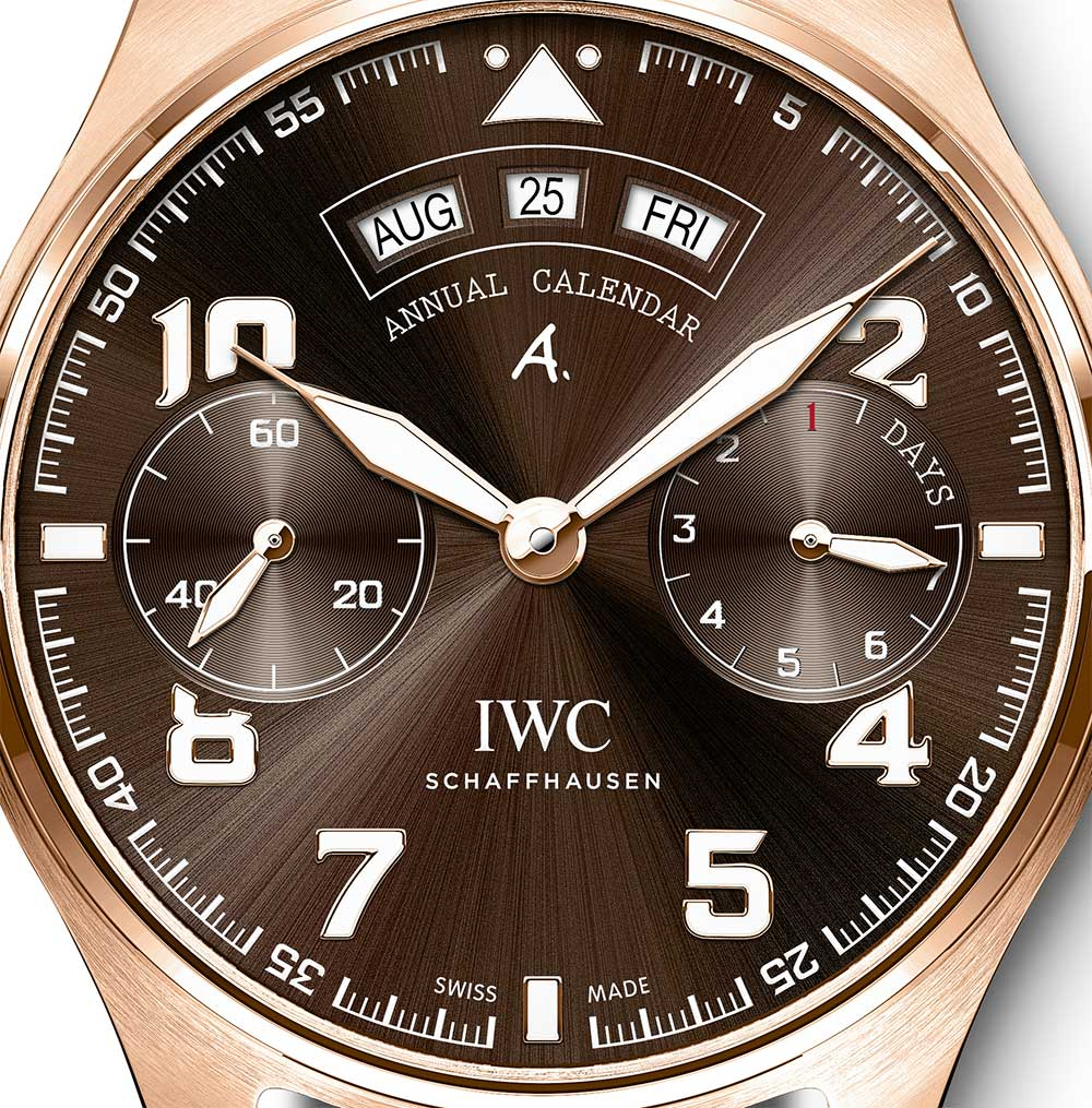 IWC Big Pilot's Watch Annual Calendar Edition Antoine de Saint Exupéry reference IW502706