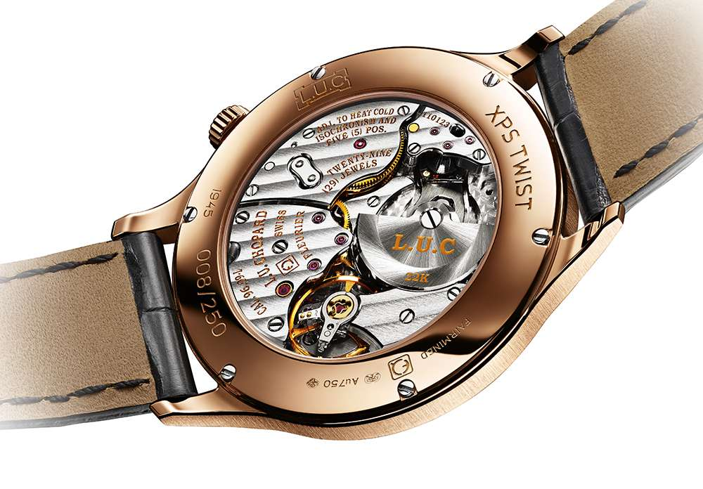 Chopard L.U.C XPS Twist QF Fairmined caseback