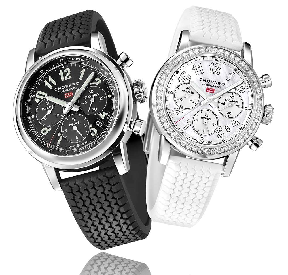 Chopard Mille Miglia Classic Chronograph 168589-3002 and 178588-3001