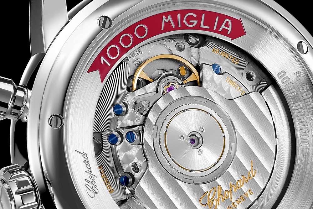 Chopard Mille Miglia Classic Chronograph 168589-3002 caseback