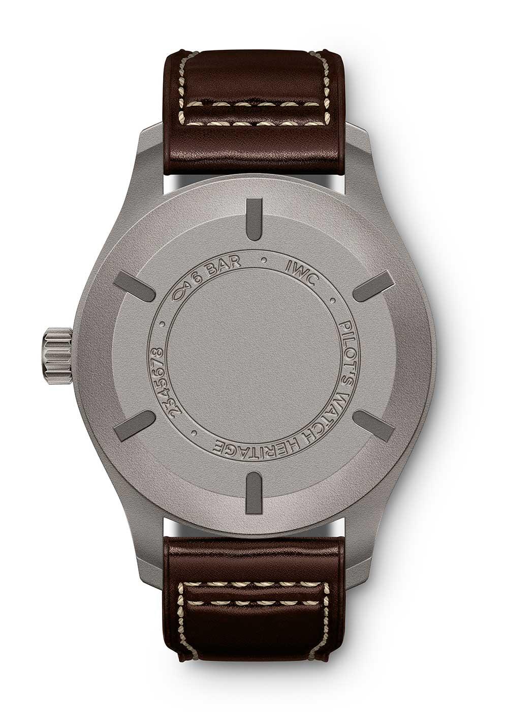 IWC Pilot's Watch Mark XVIII Heritage IW327006 caseback
