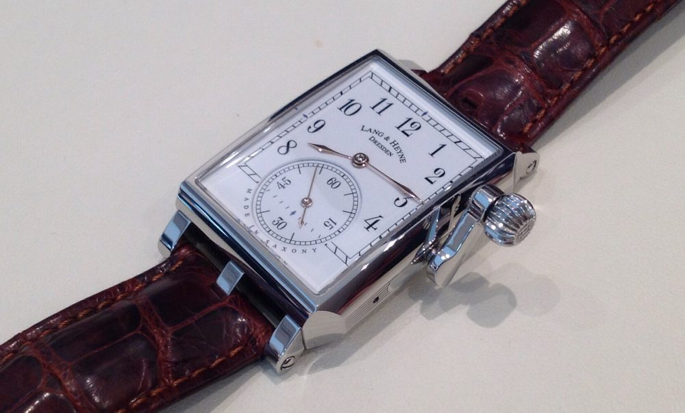 Lang & Heyne Georg with crank-handle crown