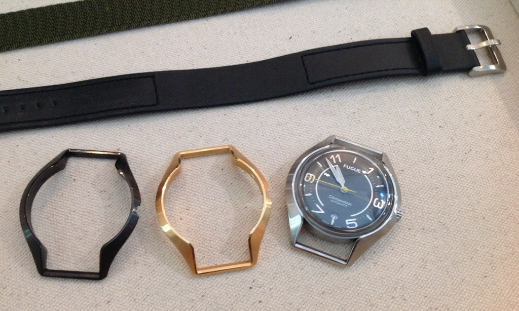 Fugue Chronostase watch with interchangeable case
