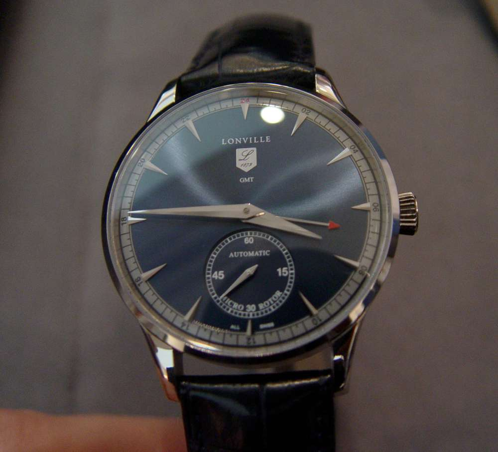 Lonville Virage 59 Bleu GMT