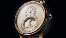 Jaquet Droz Grande Seconde Moon, red gold