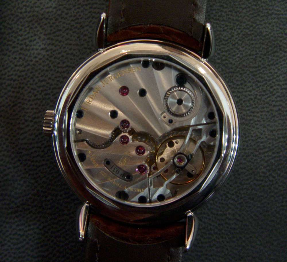 Urban Jurgensen The Alfred caseback