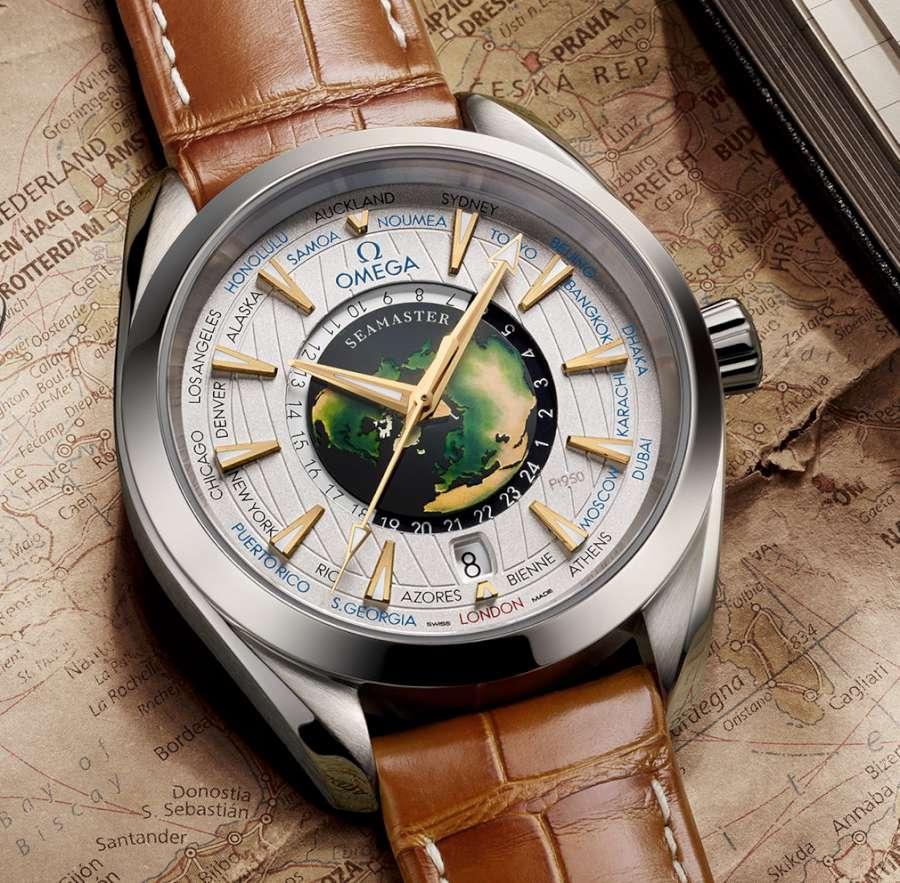 Omega Seamaster Aqua Terra Worldtimer reference 220.93.43.22.99.001
