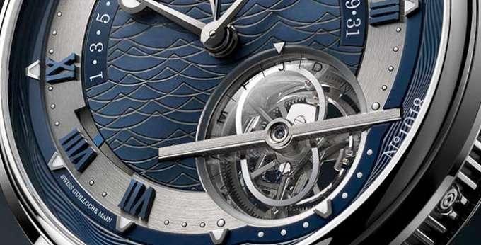 Breguet Marine Équation Marchante 5887 platinum