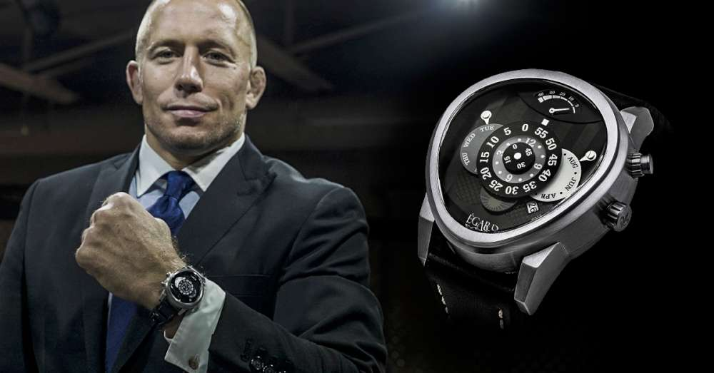 Georges St. Pierre and the Egard Watch Co Rush
