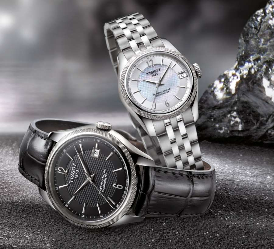 Tissot Ballade men's and women's versions