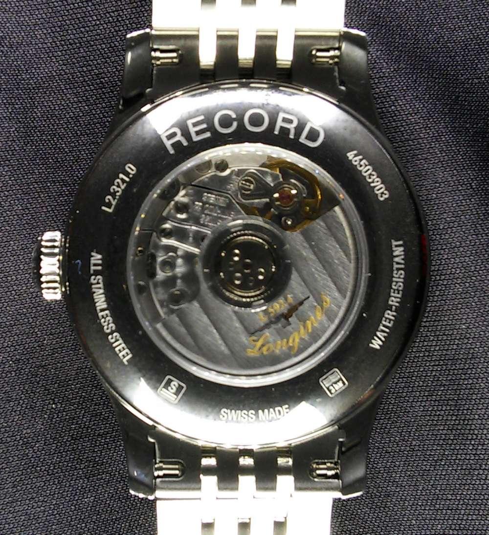 Longines Record L2.321.0.87.6