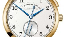 "A. Lange & Söhne 1815 ""Homage to Walter Lange""reference 297.021 in yellow gold"
