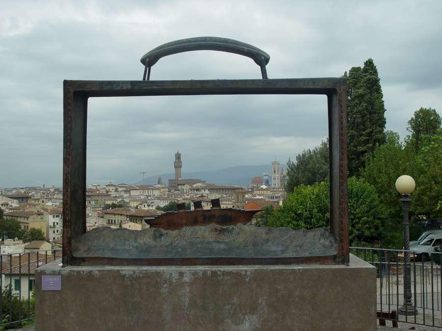 Jean-Michel Folon, Giardino delle Rose, Firenze