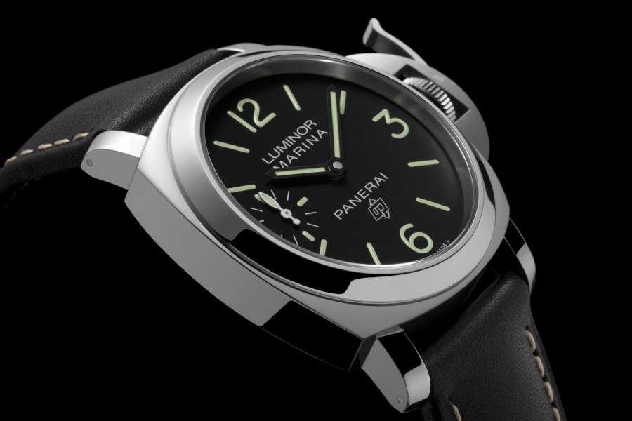 Panerai Luminor Marina Logo 3 Days Acciaio PAM00776