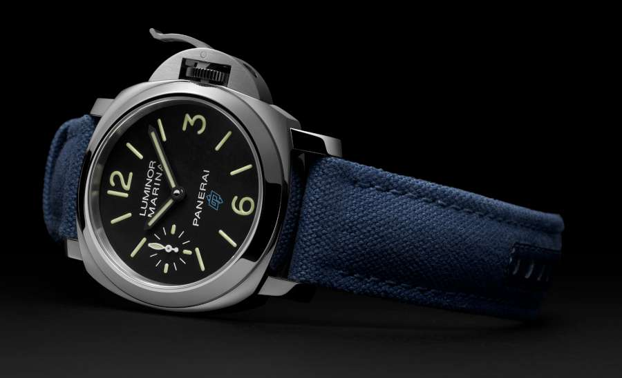 Panerai Luminor Marina Logo 3 Days Acciaio PAM00777