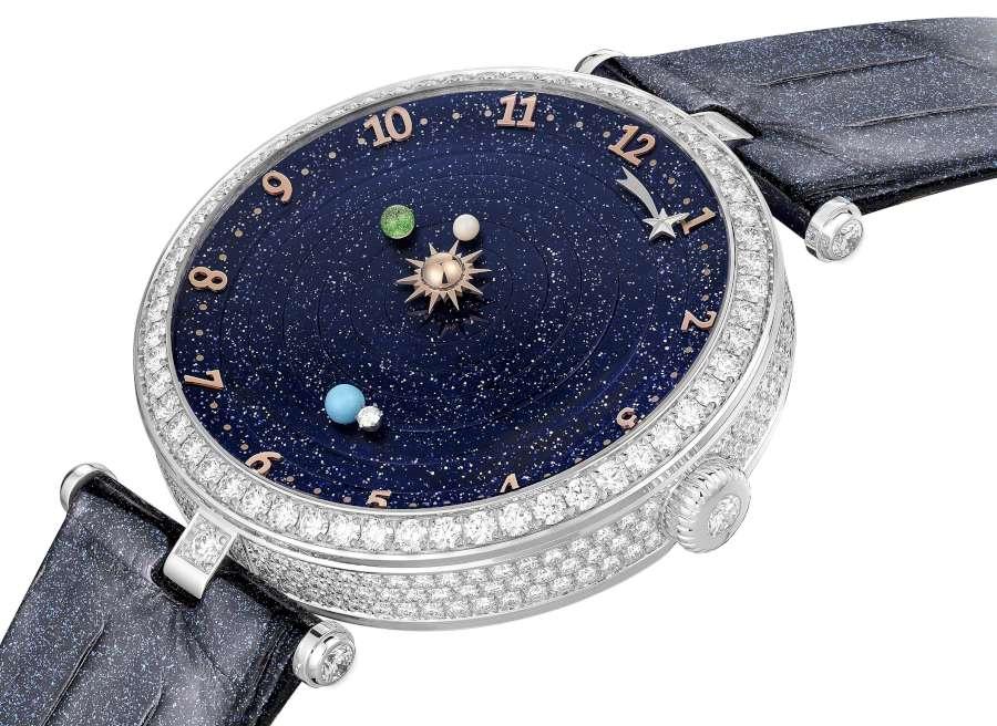 Van Cleef Arpels Lady Arpels Planetarium diamond-set