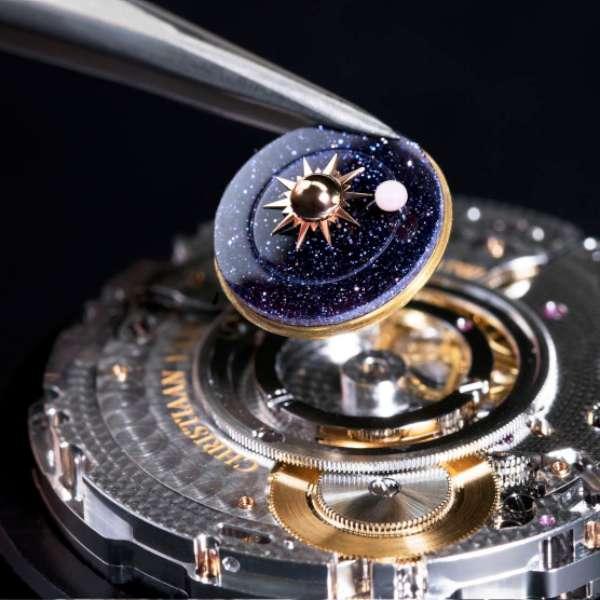 Van Cleef Arpels Lady Arpels Planetarium expertise