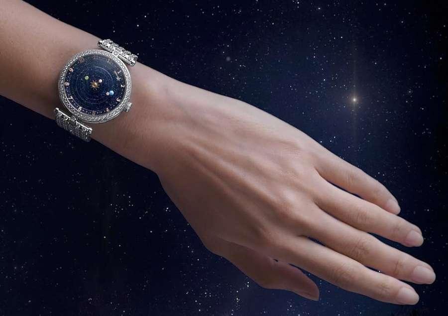 Van Cleef Arpels Lady Arpels Planetarium on hand